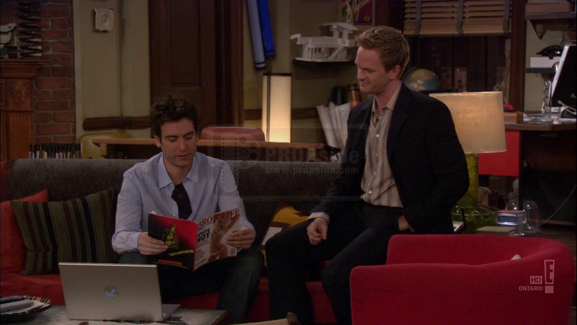 Barney Stinson s Bro s Life Magazine How I Met Your Mother at