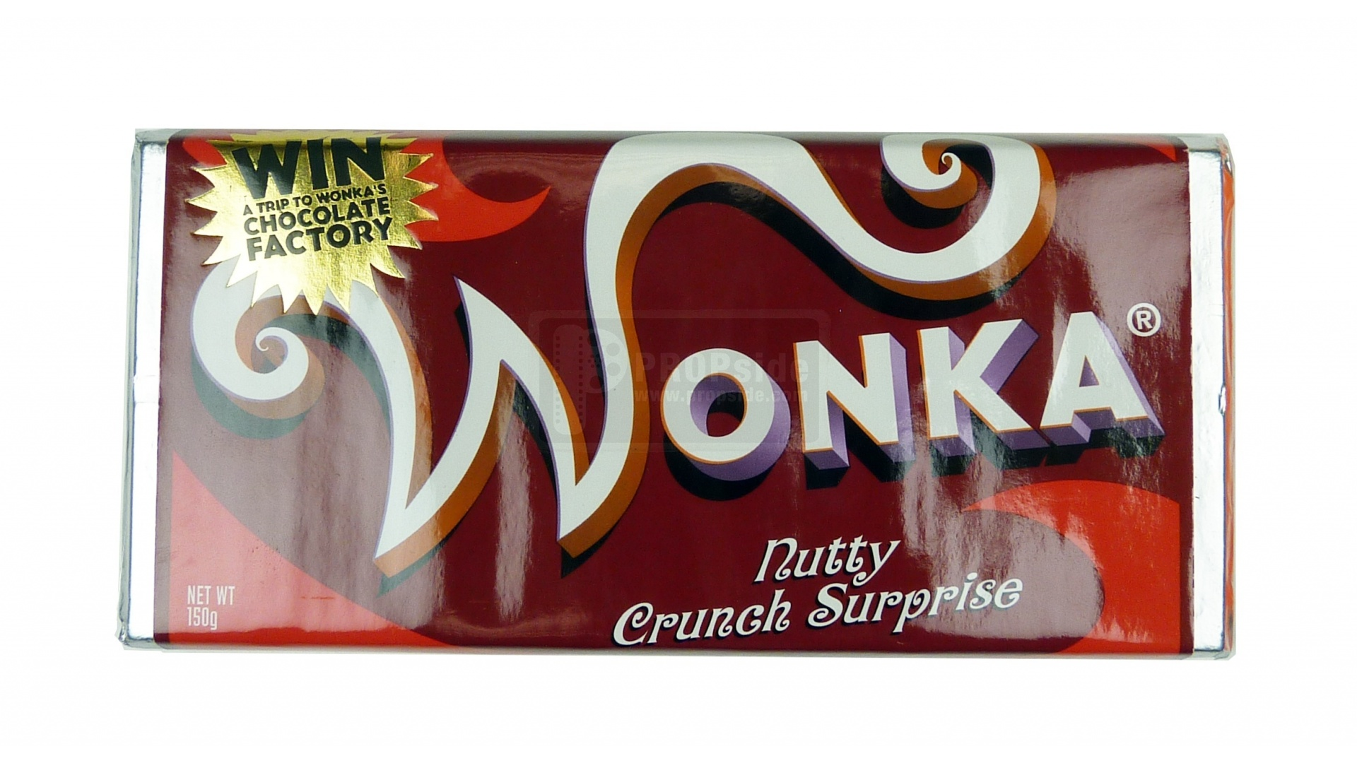 U555u | Images: Willy Wonka Candy Bar